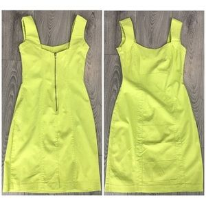3/$25 Green Sleeveless Bodycon Mini Dress Size 4